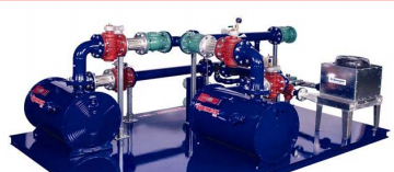 all in one gas booster with components on skid