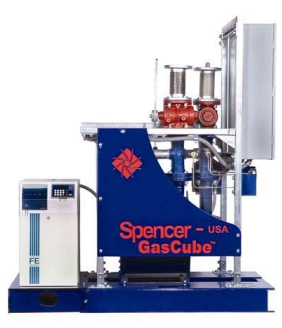 blue spencer gas cube